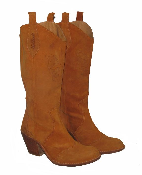 KILLAH Damen- Western- in Stiefel / botas in Naranja- braun in Western- Gr. 36 452574